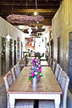 The Klein Roosboom Farm in the Durbanville Wine Valley. Table Settings, Dining Table, Rustic, Table Decorations, Farms, Roots, Wine, Furniture, Home Decor