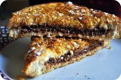 Crunchy nutella-stuffed french toasts
