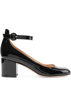 Gianvito Rossi - Patent-leather Pumps - Black - IT34.5