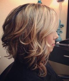 I am liking this however if I did it I wouldn't want the angle of the cut to be so severe... a little less long in the front compared to the back would be better for me.