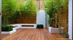Sichtschutz Garten Ideen Modern Garten with Bench Seating by Cityscapers at London