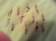 Seriously, DIY stitch markers! It was so easy and so much cheaper.