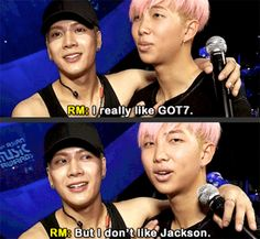 Lol understandable as he lives with four jacksons already---although I love their friendship