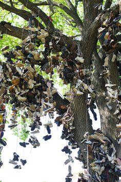 CHRISTOPH BUCHEL, SHOE TREE (2008/2012). Photograph by Graham Carlow Courtesy of Graham Carlow/ Frieze