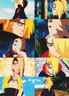Everything about Deidara is amazing.