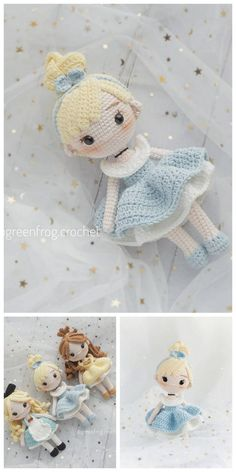 Amigurumi Rose Doll Free Pattern – Amigurumi Free Patterns And Tutorials - Crochet dolls - Doll Patterns Free, Crochet Disney, Crochet Amigurumi Free Patterns, Doll Amigurumi Free Pattern, Amigurumi Doll, Amigurumi Tutorial, Crochet Crafts, Crochet Projects, Knitted Dolls