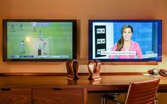 Seamless streaming - 11 Amazing Things Found in the Hotel Room of the Future | Travel + Leisure