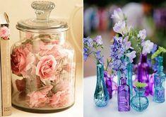 Ezt nagyobb üvegtárolóval vagy vázákkal és szép italosüvegekkel is megoldhatod.