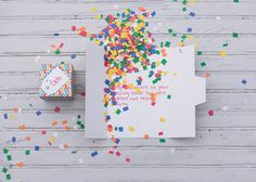 Send a friend a ton of confetti greetabl