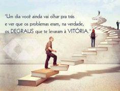 Os degraus da vitória