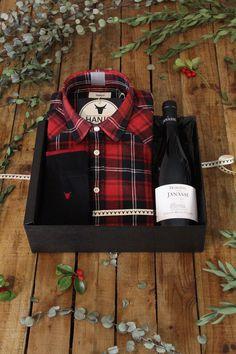 Chemise Mode Homme Tartan Ecossais Rouge Noir - Idee cadeau de noel pour homme 2017 vin, restaurant, gastronomie, gourmand