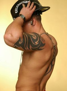 Tattoos for Guys - http://www.tattoo-pics.net/tattoos-for-guys/... ~Damn! Who the hell do you belong to?!?~ Sick Tattoo, Cool Arm Tattoos, Large Tattoos, Insane Tattoos, Arm Tattoos For Guys, Sweet Tattoos, Tatoos, Usmc Tattoos, Tribal Arm Tattoos