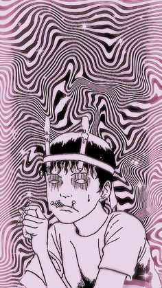 Goth Wallpaper, Dark Wallpaper Iphone, Cute Anime Wallpaper, Junji Ito, Anime Backgrounds Wallpapers, Animes Wallpapers, Arte Horror, Horror Art, Otaku Anime
