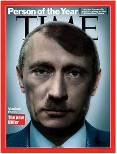Putin is Hitler everywhere