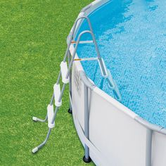 """Summer Waves Elite 14' x 42"""" Premium Frame Above Ground Swimming Pool with Filter Pump System And Deluxe Accessory Set - Walmart.com - Walmart.com"""