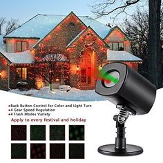 Merry Christmas Trees Projector Lights Laser Snow Yard Outdoor Decorations Kit for sale online