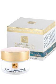 Health and Beauty - Lightening Cream SPF- 20