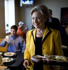 The latest email hack by DNC Leaks has revealed the secret to Clinton's healthy diet (file image)