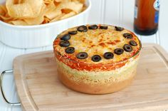 Gojee - 7 Layer Mexican Bean Dip by The Slow Roasted Italian  Yum! Yum! Yum!!!!!!!!!!