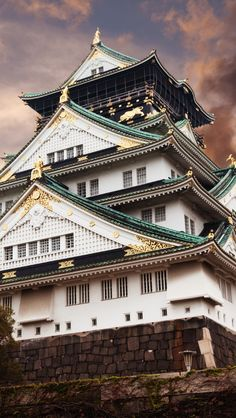 Historic and beautiful, Osaka castle, Japan. Tokyo Travel Guide, Japan Travel, Japan Trip, Vietnam Travel, Laos, Places To Travel, Places To See, Tokyo Ville, Places Around The World