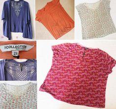 Job Lot Women s Top Clothes Bundle Plus Size XL 16-22 Debenhams Intuition Maine