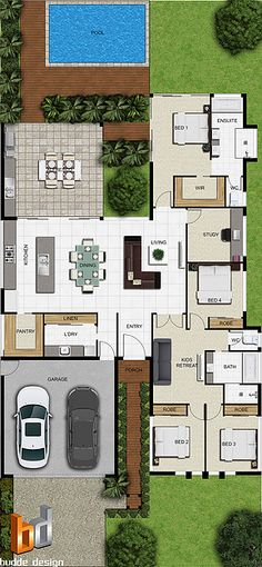 Create high quality, professional and Realistic colour floor plans from our specifically produced range of custom floor plan images, floor plan symbols, architectural symbols, top down vi Dream House Plans, House Floor Plans, My Dream Home, Dream Houses, The Plan, How To Plan, Floor Plan Symbols, Custom Floor Plans, Custom Home Plans