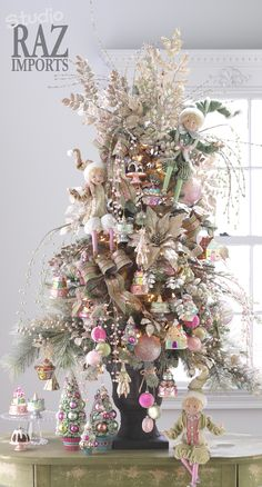 2013 Christmas Tree. This company RAZ Imports always has the most beautiful trees and holiday decor!