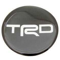 "X4 TRD Sticker Rasin 52mm.(2.04"") Wheel Center Caps Emblem Logo Decal"
