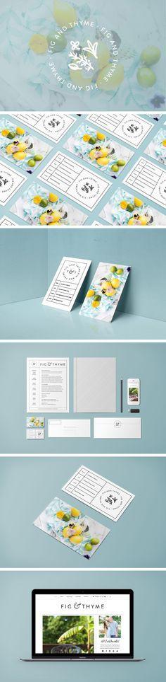 Fig & Thyme Custom Food Blog Design