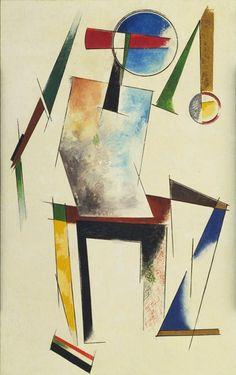 "Varvara Stepanova, ""Figure"", 1921. MoMA. #ProgramaNosotras"