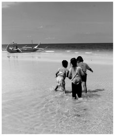 Kids and the ocean