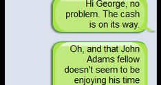 ClassTools SMS Generator - Text Messages Between Historical Figures  #edchat #tlchat #futurereadylibs #istelib www.freetech4teac...