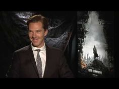 Benedict Cumberbatch - Filmpro STID Press Junkets Outtakes. The things his face does...