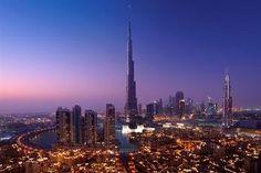 Burj Khalifa - The worlds tallest building in #Dubai.