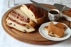 Julekake tangzhong - Krem.no Breads, Biscuits, French Toast, Rolls, Food And Drink, Baking, Breakfast, Sweet, Bread Rolls