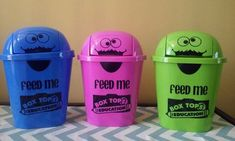 Box Top Storage Pails. Box Tops. Box Tops for Education.