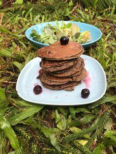 Flex Meal: Purium Pancakes Whole30 Salmon Recipes, Healthy Recipes, Purium Cleanse, 10 Day Cleanse, Cleanse Recipes, How To Eat Paleo, Pancakes, Clean Eating, Vegan