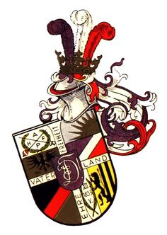 Coat Of Arms, Playing Cards, Leipzig, Fraternity, Crests, Family Crest, Playing Card Games, Game Cards, The Sentence
