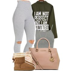 Falling so fast I'm afraid of you, so I lied to keep you from breaking my heart by mindlesspolyvore on Polyvore featuring Topshop, MICHAEL Michael Kors, Michael Kors, Jessica Simpson and UGG Australia