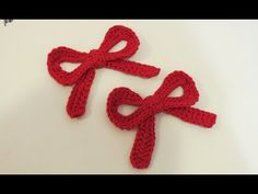 Cute Crochet Bow Tutorial | Girlybunches - YouTube