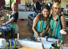 Making ravioli and gnocchi