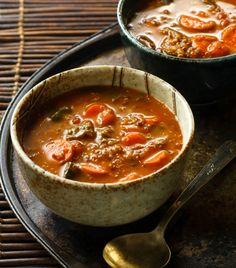 Low FODMAP Soup Recipe | filling, satisfying and non-irritating for IBS sufferers | eathealthyeathappy.com