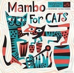 Mambo For Cats - Various Artist 180g Vinyl LP April 7 2017 Pre-order