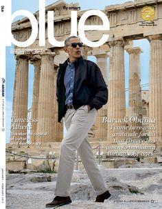 Barack Obama visiting the Acropolis, Athens, Greece