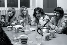 Ringo, George and sisters Boyd