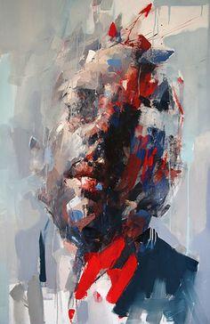 Ryan Hewett - Awaken (selfportrait). Oil on canvas,140x100 cm - Love it . . . . Art Calls http://www.Art-Competition.net