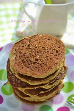Pancakes de sarrasin sans oeufs sans lactose sans gluten