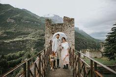 vegan wedding in a castle