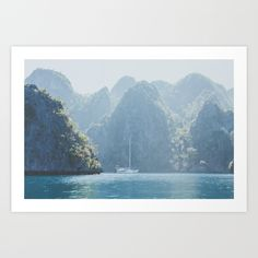 Philippines III Art Print by Luke Gram | Society6