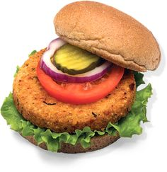 On a bun or in a salad...QRUNCH time!
